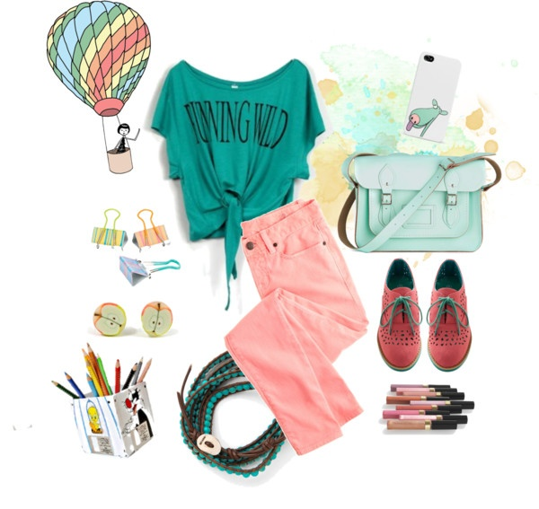 """back to school"" by antigoni-pagali on Polyvore"