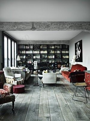 gray wood floors
