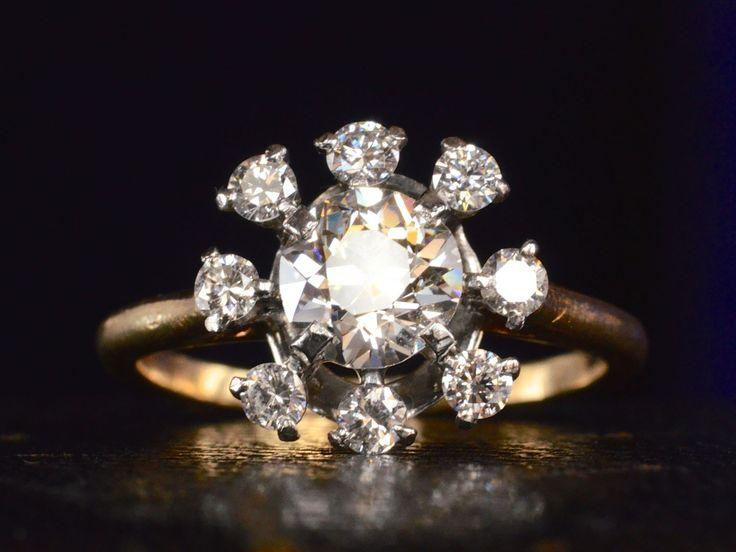 More Views. 1940s Cartier Diamond Ring ...