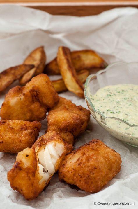 Kibbeling - Kabeljauw in een goudbruin en krokant gebakken jasje. De Nederlandse versie van Fish and Chips.