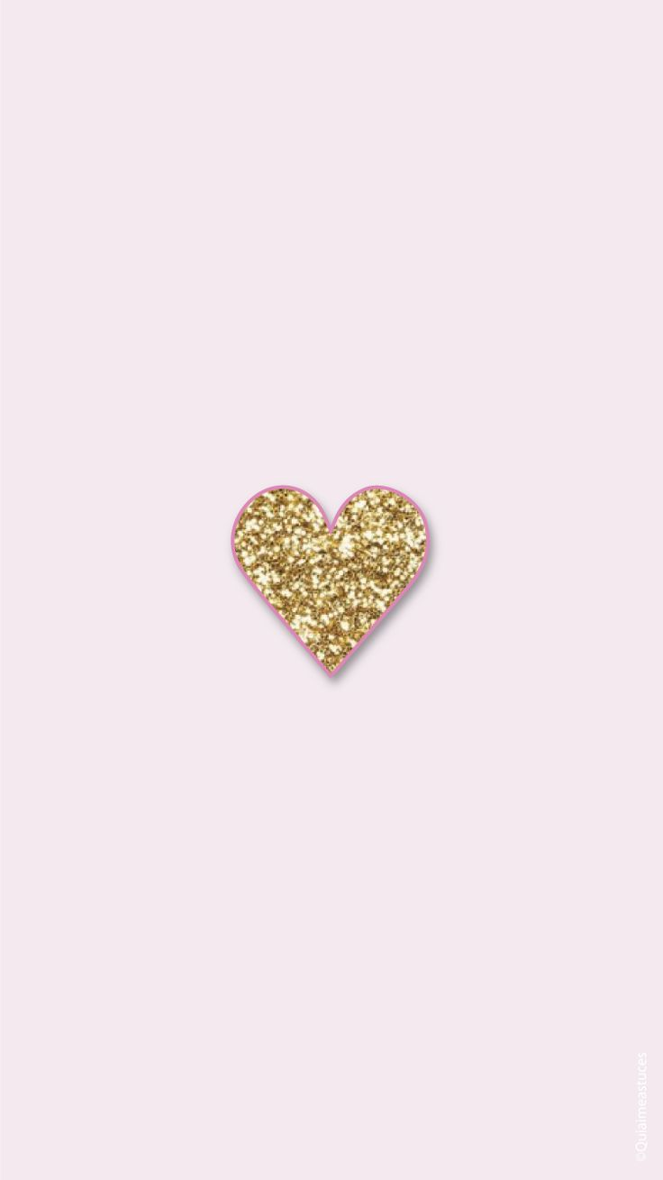 Hello Beauty! Simple Pink Gold iPhone Home Wallpaper @PanPins