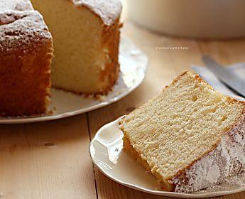 Chiffon cake ricetta originale del sofficissimo ciambellone americano