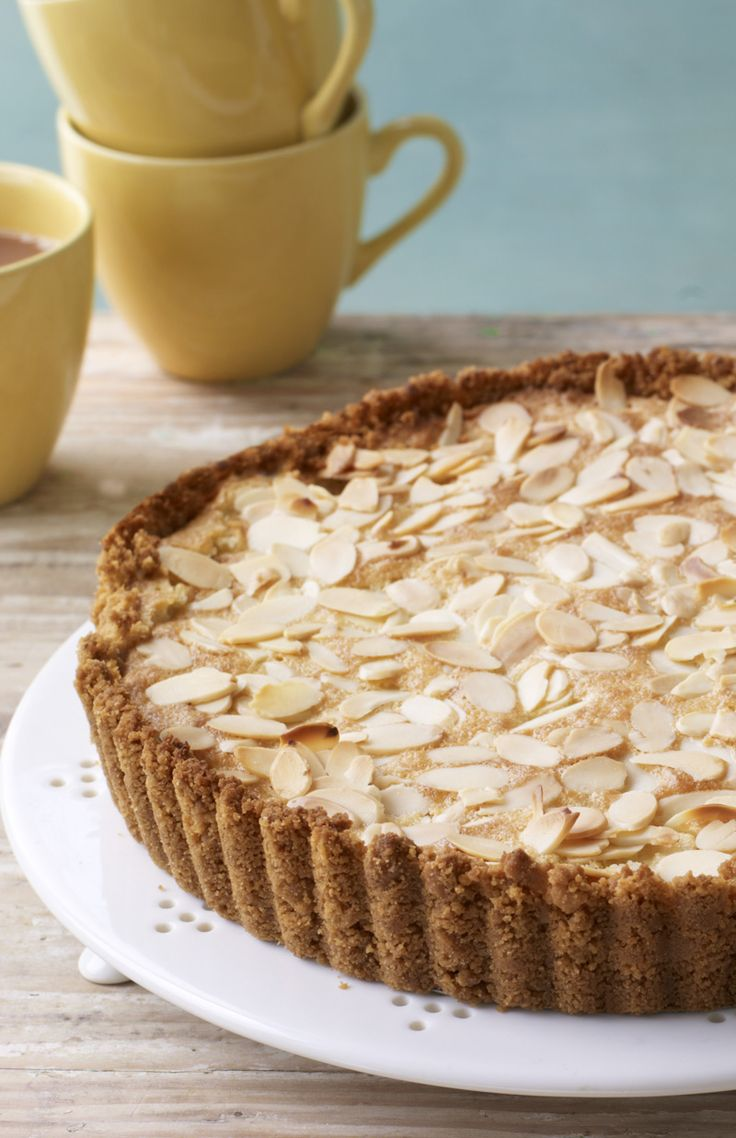 Is it a pie? Is it a cake? It's both! Mary's apple frangipane tart is perfect with a dollop of whipped cream.
