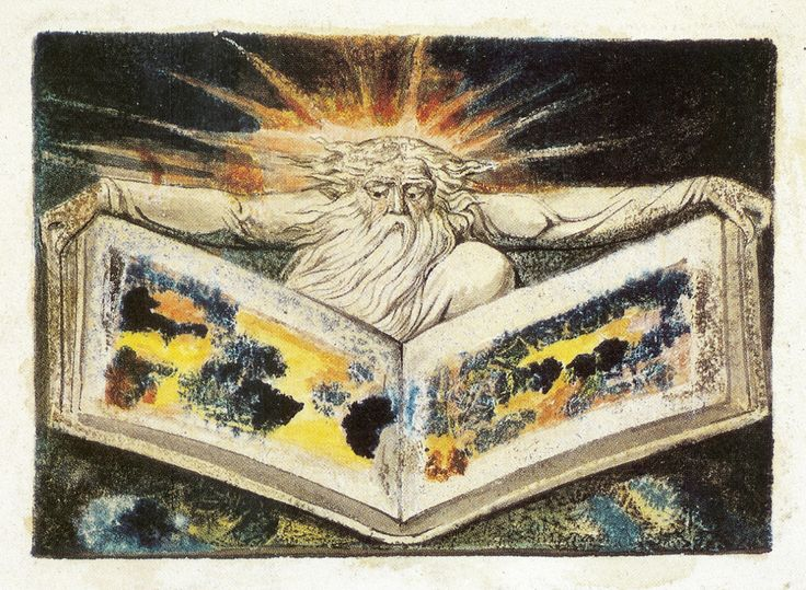 ASSertive DISCIPLINE William Blake - The Book of my Remembrance (from the Small Book of Designs, Copy B). 1796
