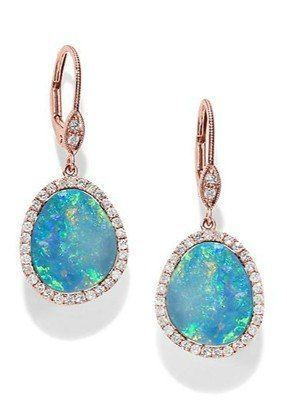 13 Shimmering Opal Jewelry Finds To Fire Up Your Spring Accessories Game - jewelry, cute, jadau, contemporary, steampunk, royal jewellery *ad