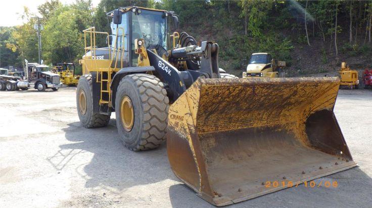 2010 John Deere 824K For Sale (3239653) :: Construction Equipment Guide