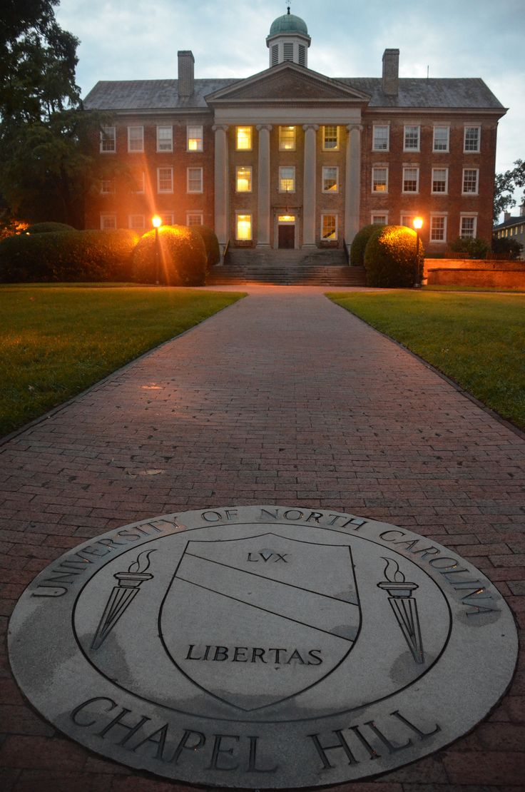"UNC-Chapel Hill university seal: ""Lux & Libertas"" (Light & Liberty)"