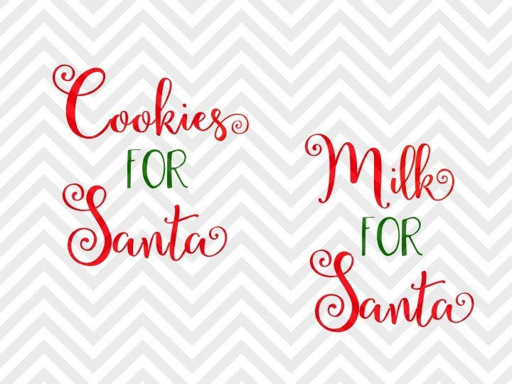 Milk for Santa Cookies for Santa Christmas plate cup reindeer carrots vinyl SVG and DXF EPS Cut File • PNG • Vector • Calligraphy • Download File • Cricut • Silhouette North Pole Santa Printable Farmhouse Christmas Decor Santa Sack Christmas Winter Wonderland Christmas shirt Warm Wishes Elf Santa North Pole Christmas Mistletoe naughty nice elves santa SVG file - Cut File - Cricut projects - cricut ideas - cricut explore - silhouette cameo projects - Silhouette projects by…