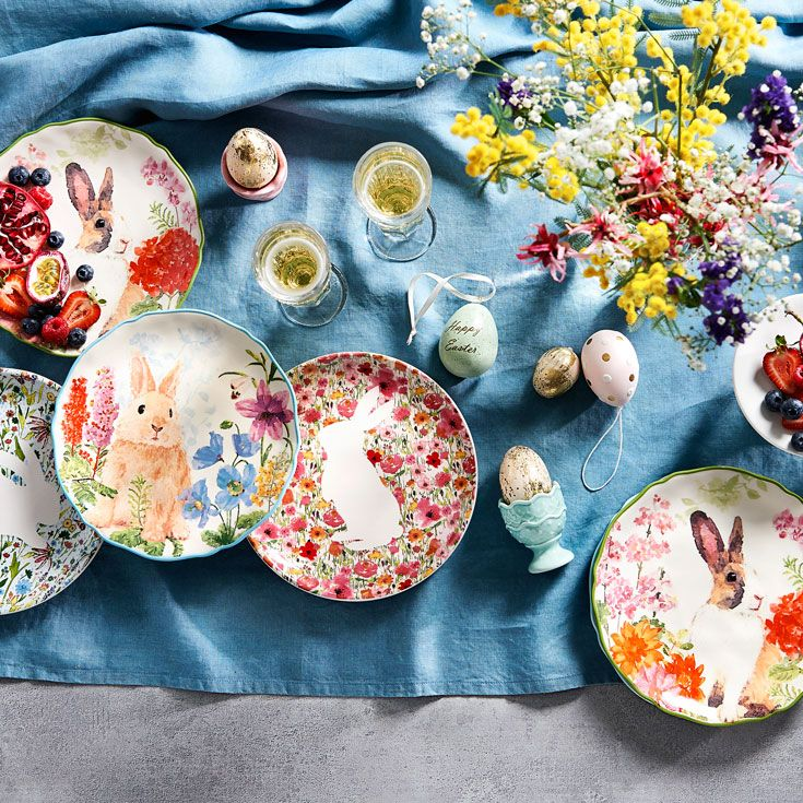 Easter table décor 2017 by Bed Bath N' Table #easterdecor #homestyle #bedbathntable