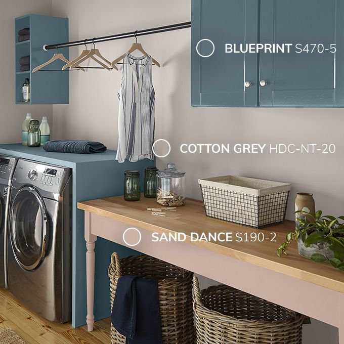 Behr  Color of the Year 2019 Blueprint Add color to