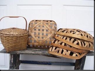 beautiful handmade baskets by basketsnprims. my friend pam.: My Friend, Tobacco Basket