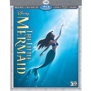 I MUST HAVE THIS!!!!! :D The Little Mermaid (Diamond Edition) (3D Blu-ray + Blu-ray + DVD + Digital Copy + Music) (Anamorphic Widescreen)