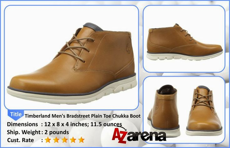 Timberland Men's Bradstreet Plain Toe Chukka Boot   Relax and chill in style with the Timberland Earthkeepers Bradstreet Plain Toe Chukka. These men's casual boots are great for a night out on...