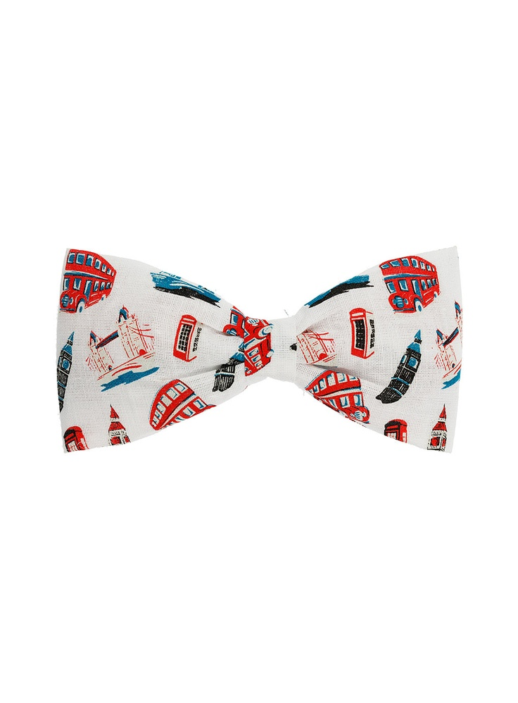 LONDON SCENE PRINT BOW TIE - Topman  Price:$12.00Ties 12, Scene Prints, Bows Ties, Bow Ties, London Scene, Prints Bows, Topman Price 6 00, Topman Price 12 00