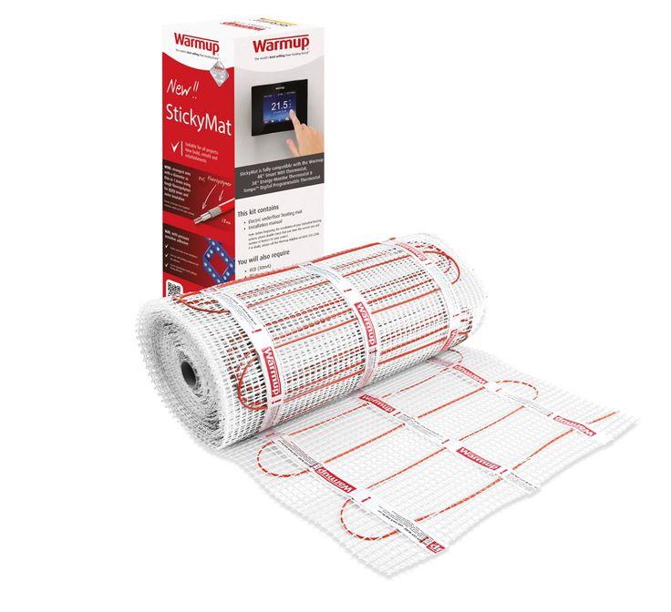 Warmup Electric Underfloor Heating 200w Sticky Mat Kit