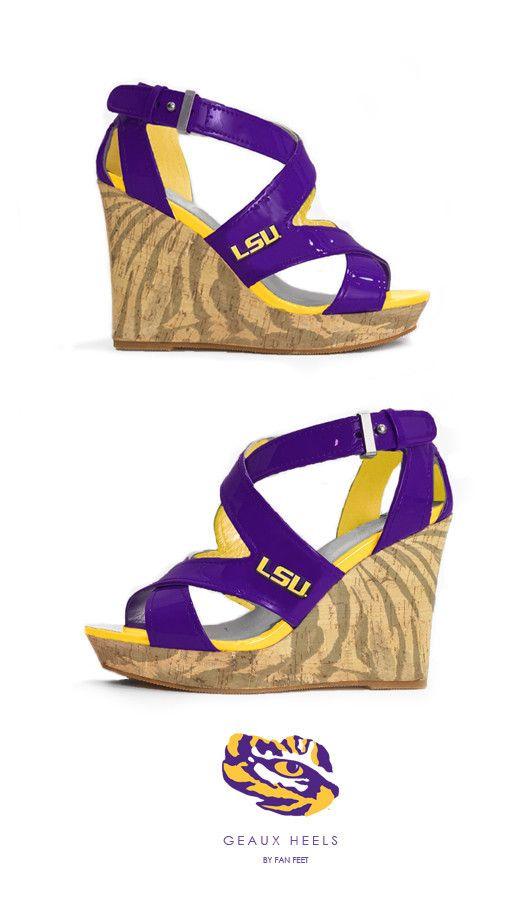LSU Heels - Game Day Mike - Geaux Heel