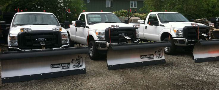 New Trucks & New Plows #readyforsnow