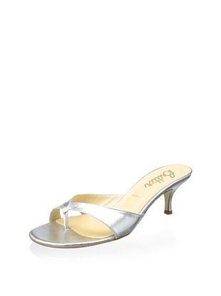 51% OFF Butter Women's Pindar Kitten Heel (Argento)