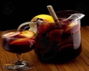 Receita de Sangria espanhola - Tudo Gostoso  http://tudogostoso.me/r22197