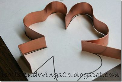 DIY cookie cutters --the possibilities for personalizing are endless!