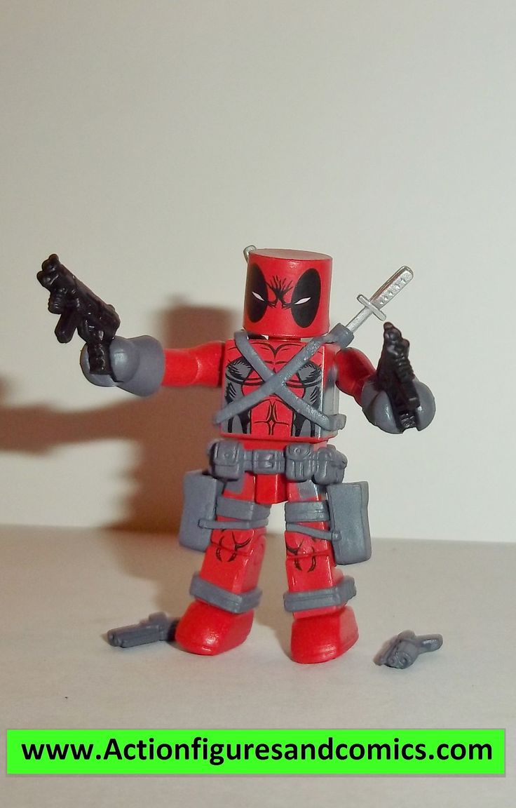minimates DEADPOOL X-force first appearance x-men complete series action figure