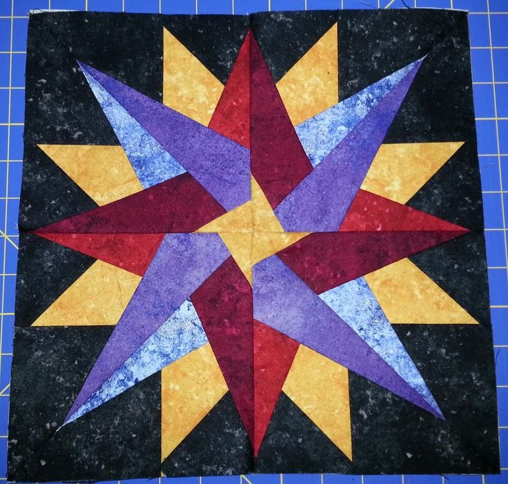 17 Best images about Paper Piecing on Pinterest Iris folding pattern, Mariners compass and ...
