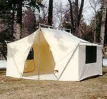 12x9x5ft Canvas Wall Tent w/Poles and Floor | Canvases Wall tent and Canopies & Details about NEW!!! 12x9x5ft Canvas Wall Tent w/Poles and Floor ...