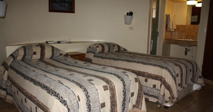 Olifants Rest Camp offers guests twin bed, en suite (shower only) air-conditioned chalets.
