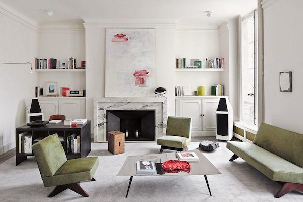 Парижская квартира   Дизайн интерьера, декор, архитектура, стили и о многое-многое другое