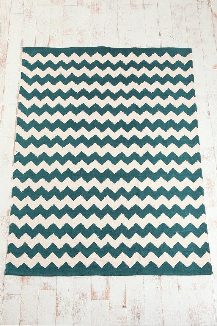 assembly home zigzag printed rug chevron rugs