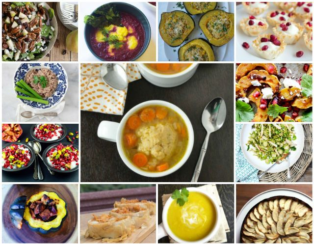 rosh hashanah vegetarian dinner