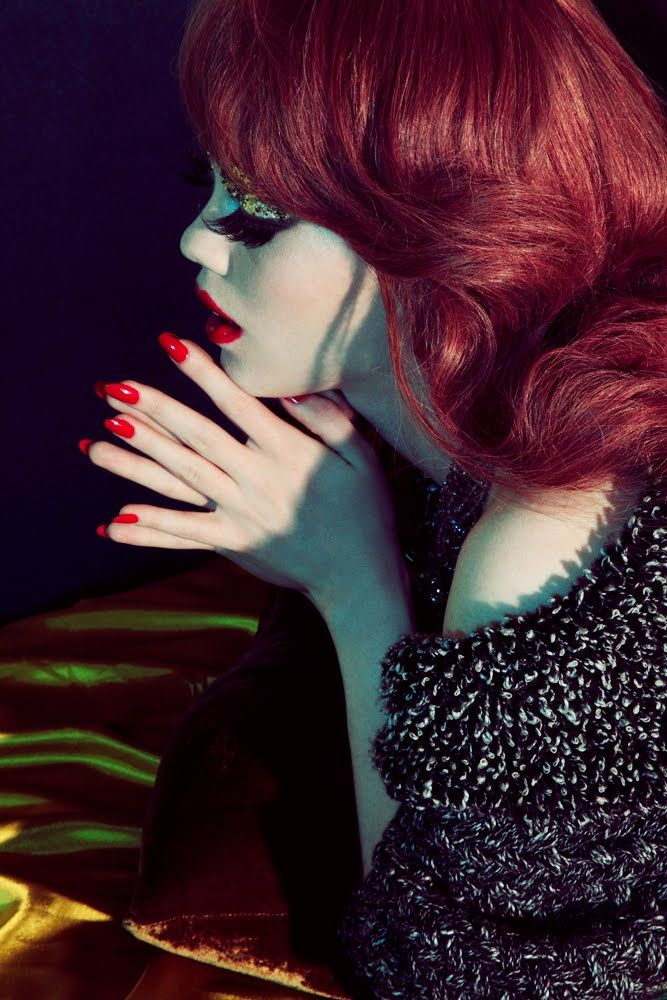 Taylor Warren: Hair Colors, Fashion Photographers, Red Hair, Red Lips, Red Nails, Taylors Warren, Fashion Photography, Music Photography, Jamie Nelson