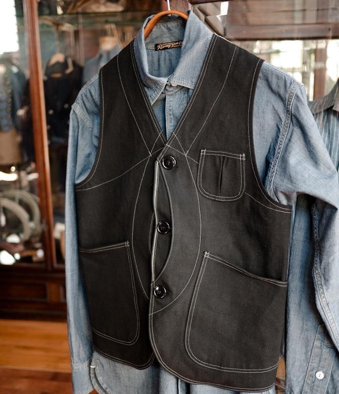 Rising Sun & Co. handcrafts tailor made denim in Pasadena, California.