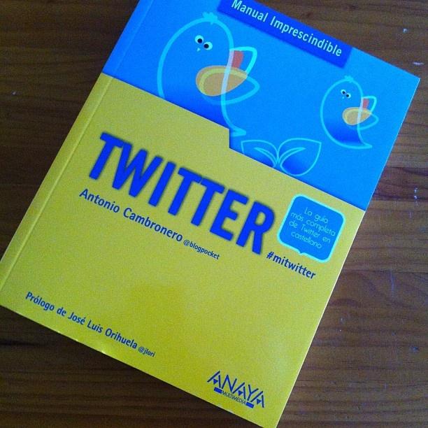 Libro recibido: #mitwitter by @blogpocket