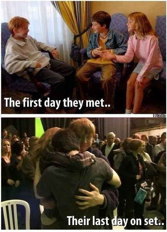 """31 Times The Cast Of """"Harry Potter"""" Gave You Friendship Goals"""