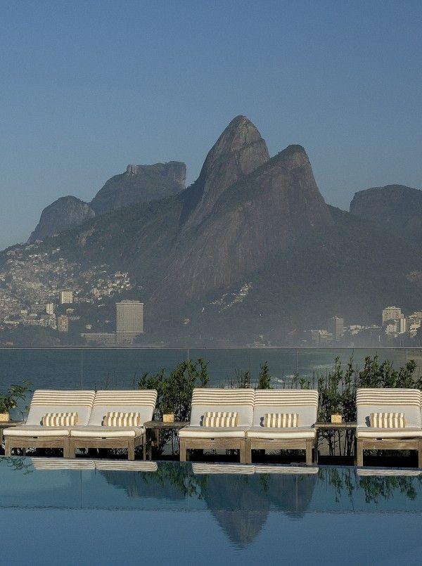 Fasano Hotel, Rio de Janeiro #hotelinteriordesigns