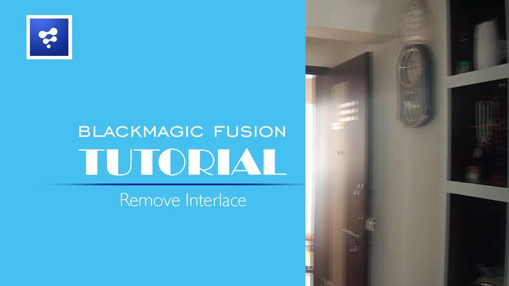 How to Remove Interlace Blackmagic Fusion 8 : Blackmagic Fusion 8 Made Easy