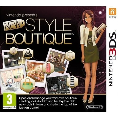 Nintendo Presents: New Style Boutique (3DS) 0
