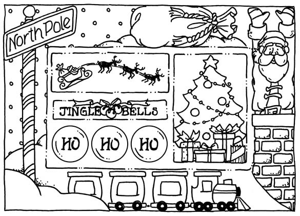 thinking...get the kids to colour it & then i have personalised placemats!! (laminate it after!)