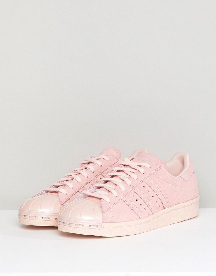 newest collection 58075 c2e39 Adidas Superstar 80s Rose Pink Adidas Originals Superstar 80s Decon Womens  ...