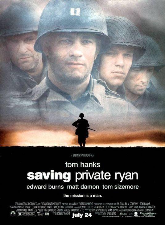 Постер к фильму «Saving Private Ryan / Спасти рядового Райана (1998)» смотреть онлайн