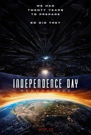 Independence Day: Resurgence Two decades after the first Independence Day invasion, Earth is faced with a new extra-Solar threat. But will mankind's new space defenses be enough?