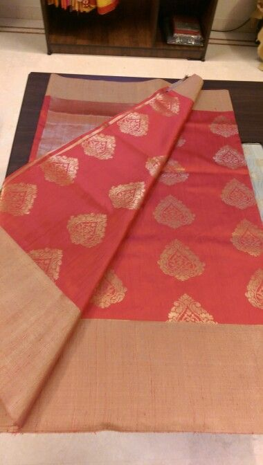 Benaras sarees is beautiful in red