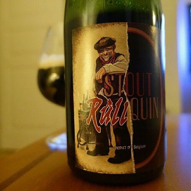 NICE!  Stout Tilquin -  Collobration Beer from Rulles and Tilquin. Only 240 bottles ta Sweden. 7/8 Rulles Brune and 1/8 lambic and then 8 month onsdag oak barrells.  #rullquin #brasseriederulles #geuzerietilquin #Beer #belgium #belgianbeer