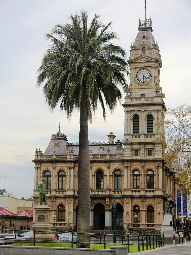 Clock Tower, Bendigo, Victoria, Australia