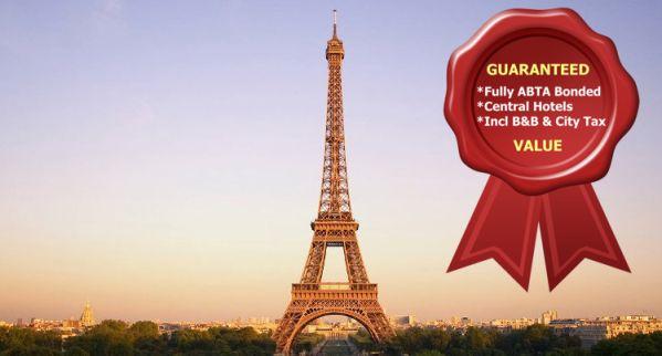 Short Breaks to Paris by Eurostar from £90