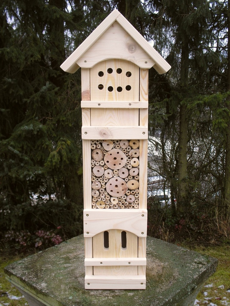 64 Best Insectenhotel Images On Pinterest Bee House