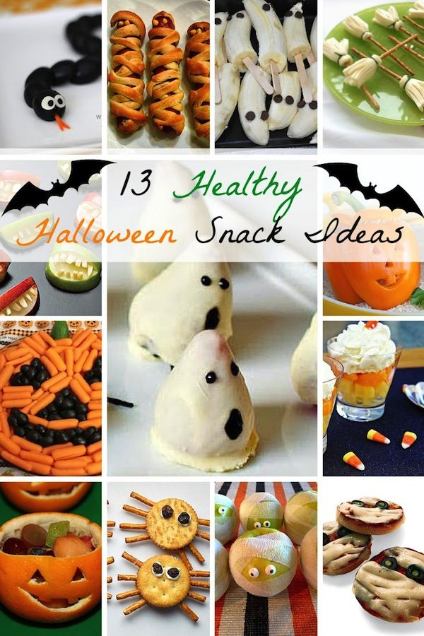From cheese and olives to fruit and veggies, there are plenty of fun healthy Halloween snacks.