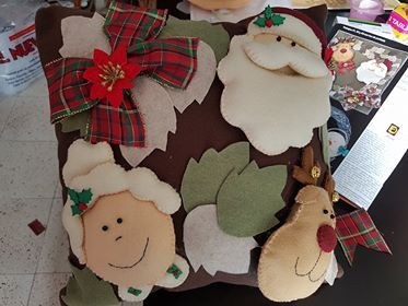 Fieltro para coleccionar.  Trabajos navideños.  Vol.30  135 hermosas ideas para una navidad inolvidable