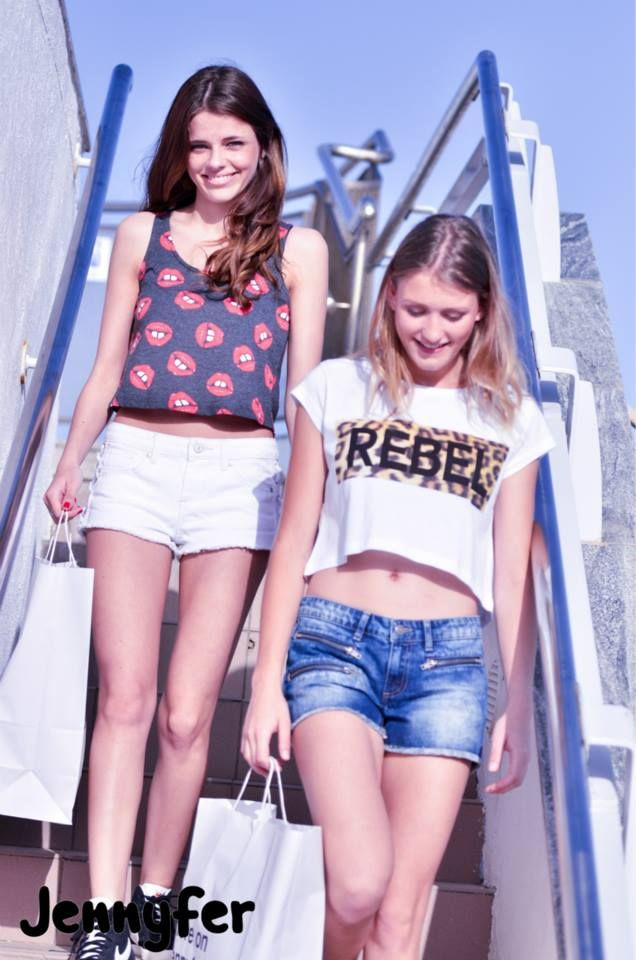 Young, Cool, Fashion, Sexy Summer! (30 photos) Girl's French Clothing Brand. Baystreet, Level 0, St. Julian's, The Plaza, Level 0, Sliema, The Savoy, Level 1, Valletta & Arkadia, Gozo.  Shot at Jennyfer, Baystreet by Ben Camille, Capture Photography. Andrea & Nina @ Models M.